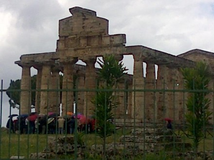 PAESTUM GREEK ARCHAEOLOGICAL AREA - SHORE  EXCURSIONS  IN  ITALY